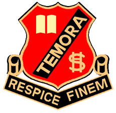 Temora High School logo